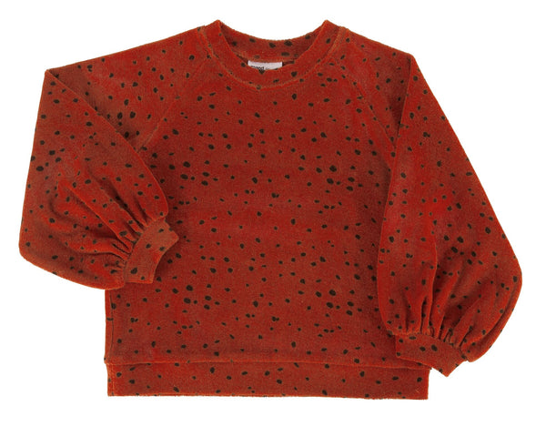 Maed for Mini Pullover Red Leopard - miniflamingo Shop