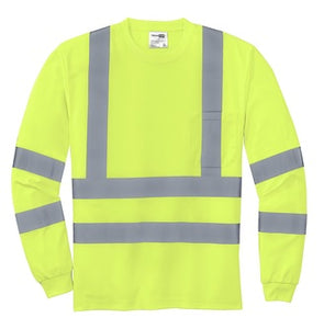 IAW - Ansi 107 Class 3 Long Sleeve Snag Resistant Reflective Shirt