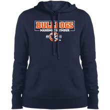 MS Bulldogs - Sport-Tek LST254 Ladies' Pullover Hooded Sweatshirt