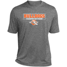 MS Bulldogs - Sport-Tek ST360 Heather Dri-Fit Moisture-Wicking T-Shirt