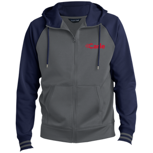 ST236 Men's Sport-Wick® Full-Zip Hooded Jacket - Embroidered w/ Department Name