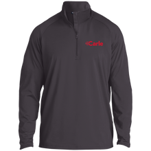 ST850 1/2 Zip Raglan Performance Pullover - Carle Red Logo