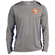 Mahomet Bulldog Circle - ST361LS Long Sleeve Heather Colorblock Poly T-Shirt