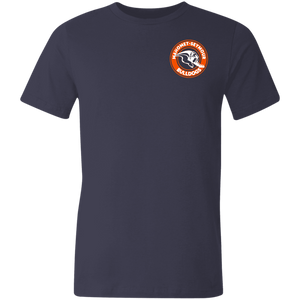 Mahomet Bulldog Circle - Bella+Canvas 3001U Unisex Jersey Short-Sleeve T-Shirt
