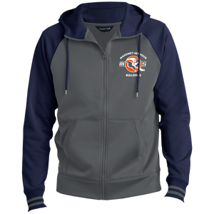 Mahomet Bulldog MS - ST236 Men's Sport-Wick® Full-Zip Hooded Jacket