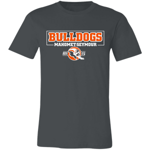 MS Bulldogs - 3001C Unisex Jersey Short-Sleeve T-Shirt