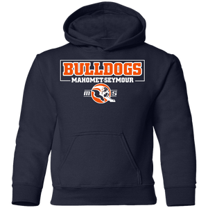 MS Bulldogs - Gildan G185B Youth Pullover Hoodie