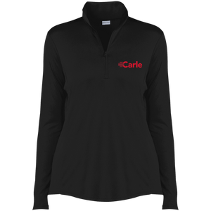 LST357 Ladies' Competitor 1/4-Zip Pullover - Carle Red Logo