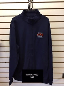 IFSI Embroidered Navy 1/4 Zip