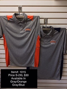 IFSI Embroidered Polo - Grey/Orange & Grey/Navy