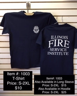IFSI Badge Logo - Navy T-Shirt