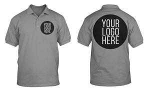 5 - Custom Designed - Sport-Tek RacerMesh Polos - Two Color Front Left Crest & One Color Full Back Logo