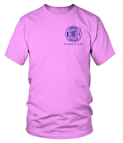 Urbana Fire Department Breast Cancer Brownfield Sports