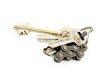 "Keyholder ""6"" – recycled bike keychain by Felvarrom bicycle upcyclery - 2"