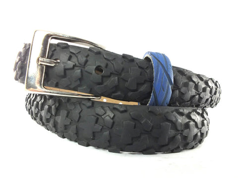 """Simple"" bike tyre belt 30 mm / 4th buckle by Felvarrom bicycle upcyclery - 1"