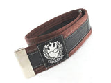 Bike trousers strap – dark brown by Felvarrom bicycle upcyclery - 3