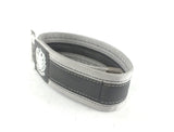 Grey trousers strap by Felvarrom bicycle upcyclery - 3