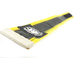 Bikers trousers strap – sun yellow by Felvarrom bicycle upcyclery - 2