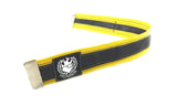 Bikers trousers strap – sun yellow by Felvarrom bicycle upcyclery - 3