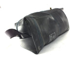 """InTuBag"" reclaimed bike tube bag, large, blue inside by Felvarrom bicycle upcyclery - 4"