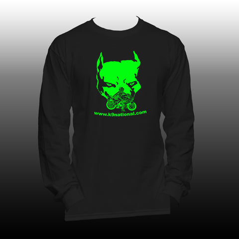 K9 Too unisex Long sleeve Black