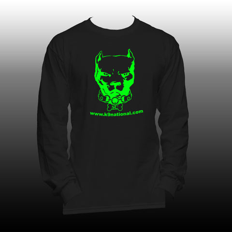 K9 SC Unisex Long Sleeve Black