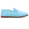Womens Baby Blue Arnedo Slip on Plimsoll