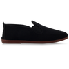 Womens Black Arnedo Slip on Plimsoll