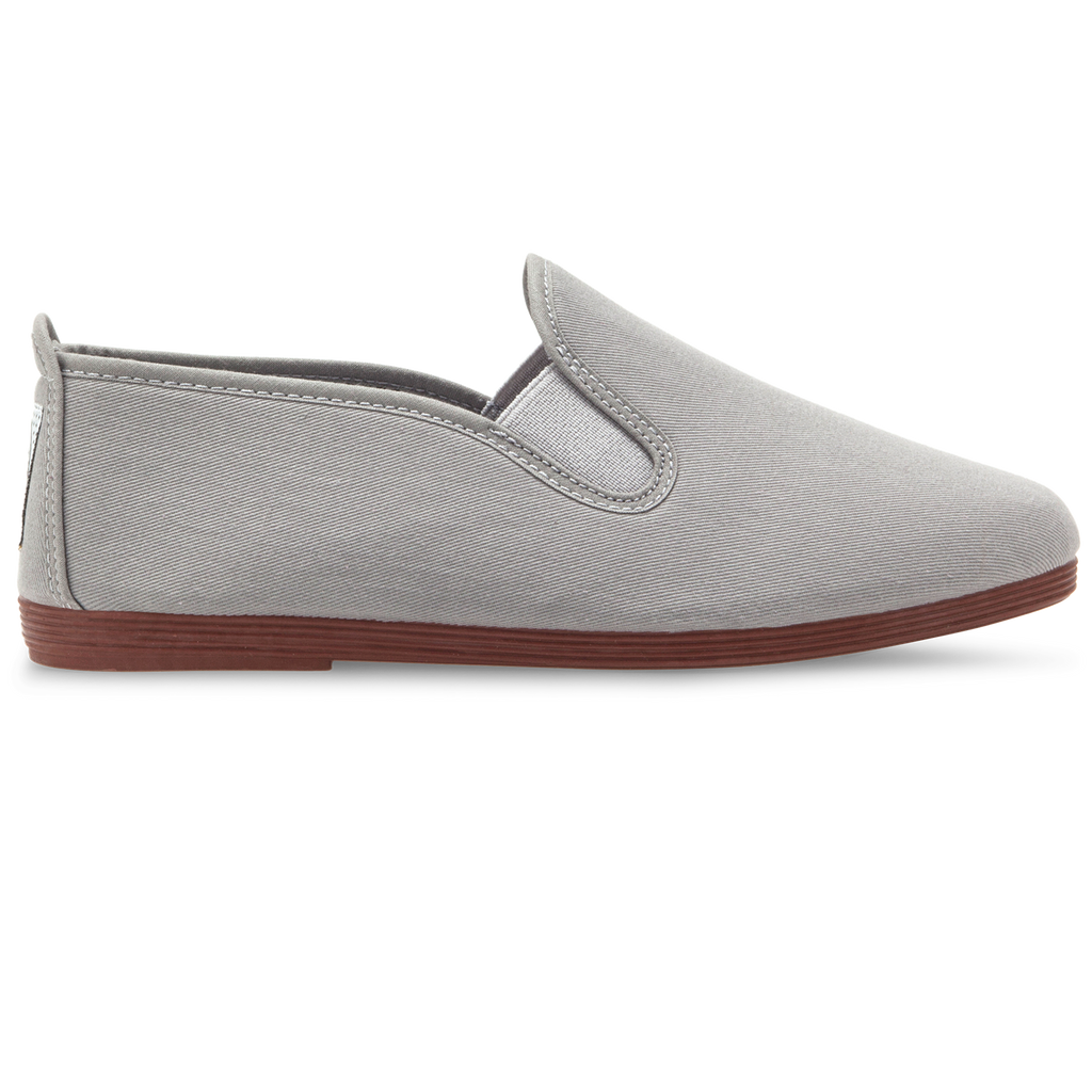Womens Grey Arnedo Slip on Plimsoll