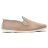 Mens Sand Eco Slip on Plimsoll