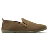 Kids Khaki Guadix Slip on Plimsoll