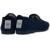 Womens Navy Gaudix Slip on Plimsoll