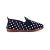 Kids Navy Gallur Slip on Plimsoll