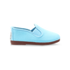 Kids Baby Blue Pamplona Slip on Plimsoll