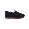 Kids Black Pamplona Slip on Plimsoll