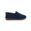 Kids Navy Pamplona Slip on Plimsoll