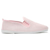 Womens Pink Sable Slip on Plimsoll