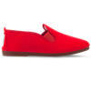 Womens Red Arnedo Slip on Plimsoll
