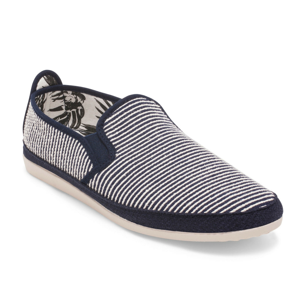 Womens Navy Brieva Slip on Espadrille Plimsoll