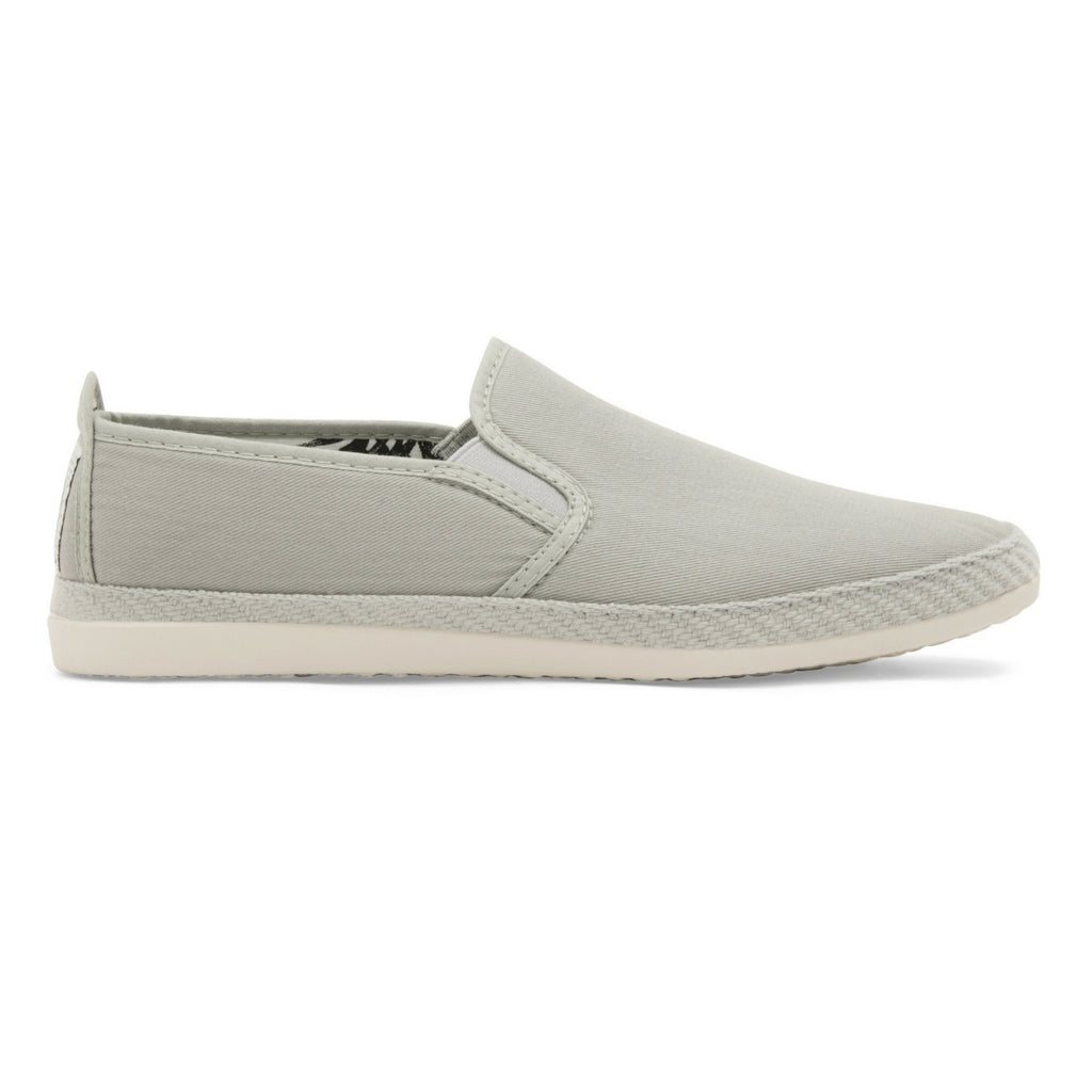 Womens Grey Orla Slip on Espadrille Plimsoll