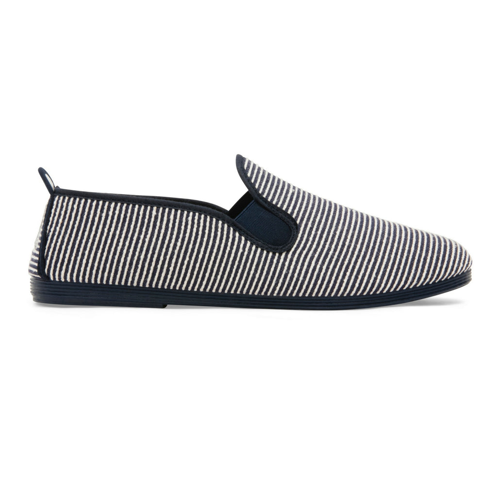 Mens Navy Torrecilla Slip on Plimsoll