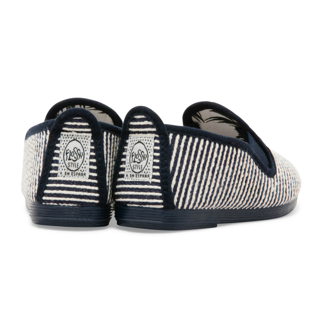 Kids Navy Torrecilla Slip on Plimsoll