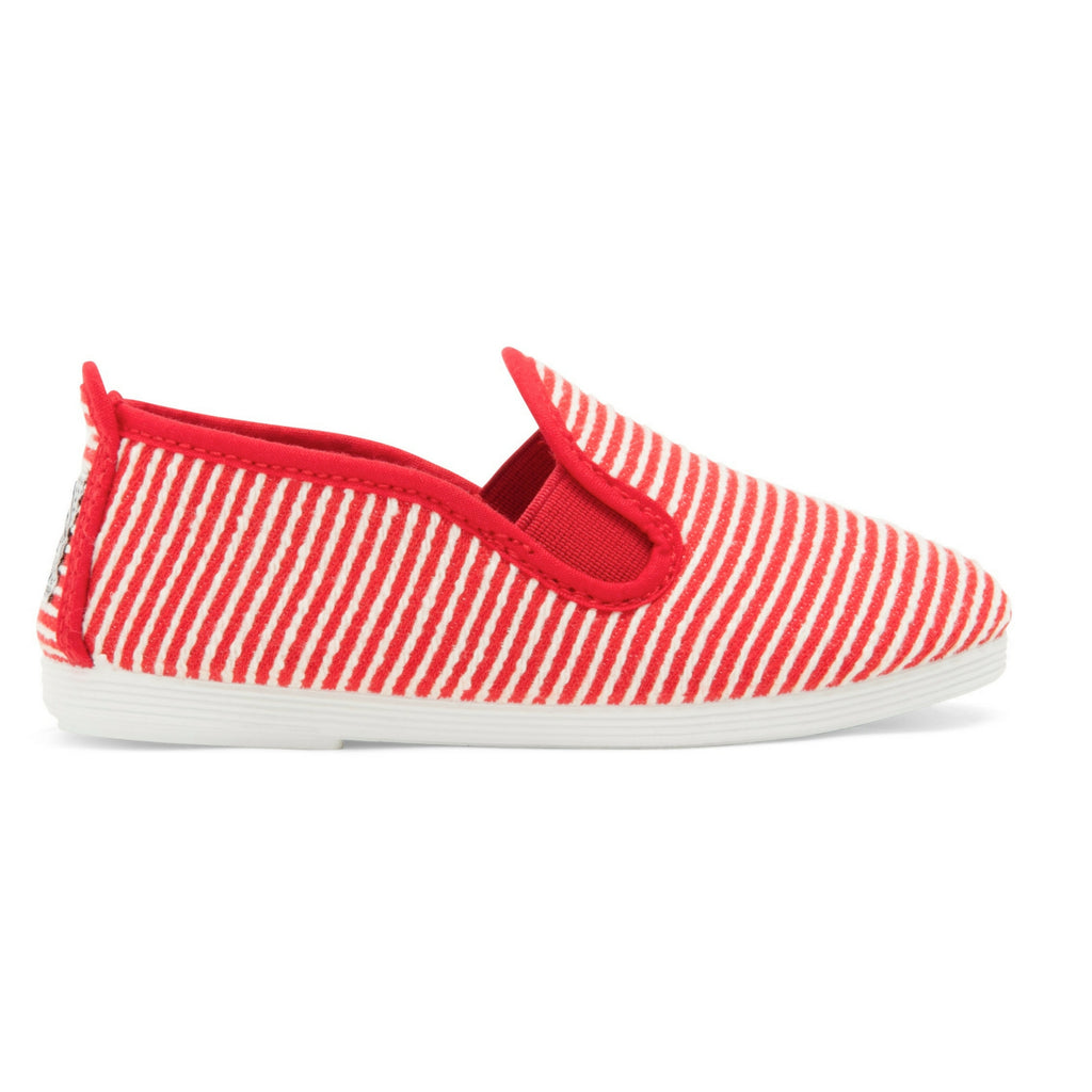 Kids Red Torrecilla Slip on Plimsoll