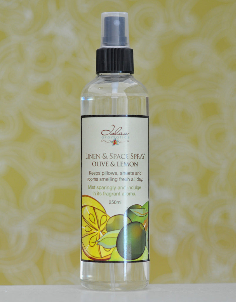 Olives & Lemons Linen & Space Spray