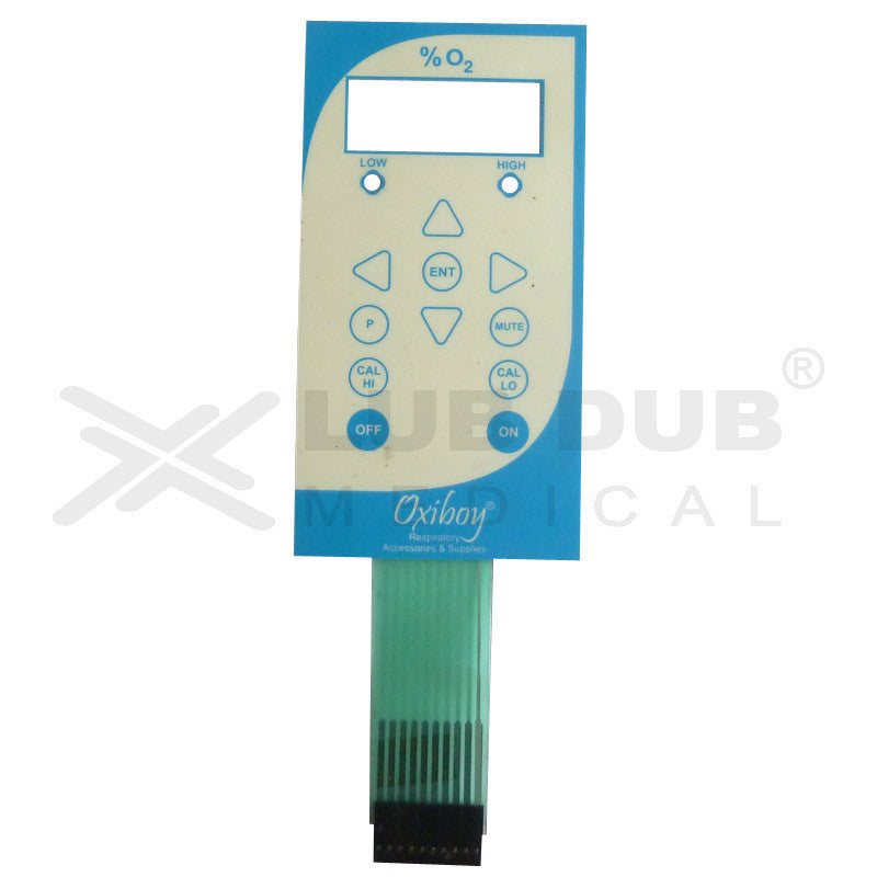 Keypad compatible with Oxiboy Analyser
