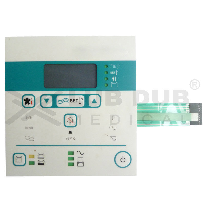 Keypad compatible with Airborne life support systems