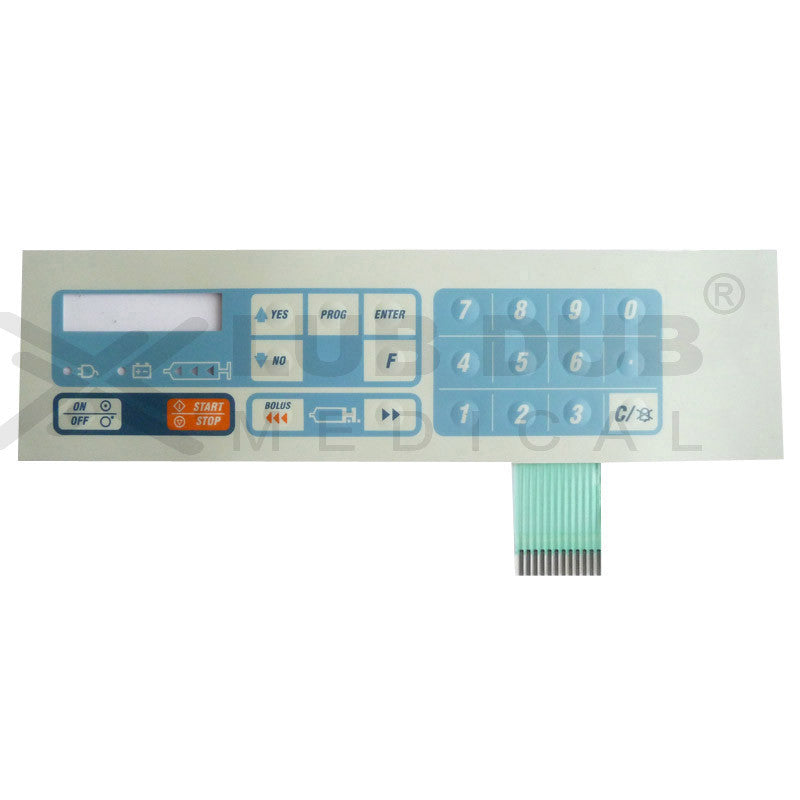 Keypad compatible with plus Sep-10S syringe pump