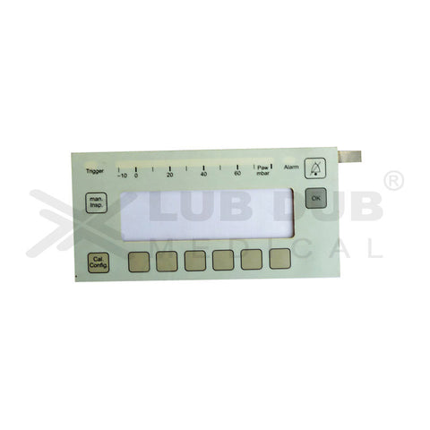Keypad compatible with Drager Savina Ventilator