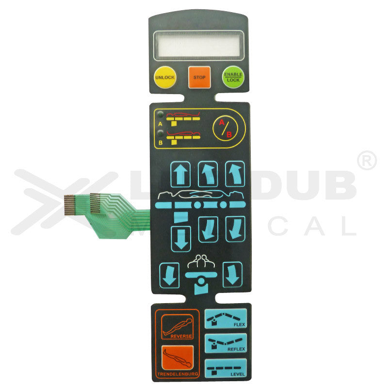 Keypad compatible with Schaerer