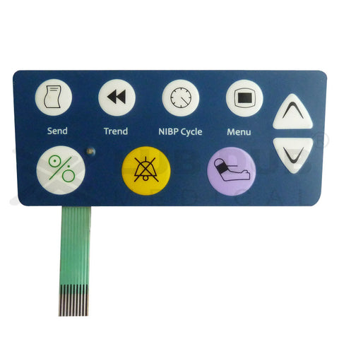 Keypad compatible with Criticare 506 DN